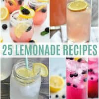 lemonade recipes vertical collage