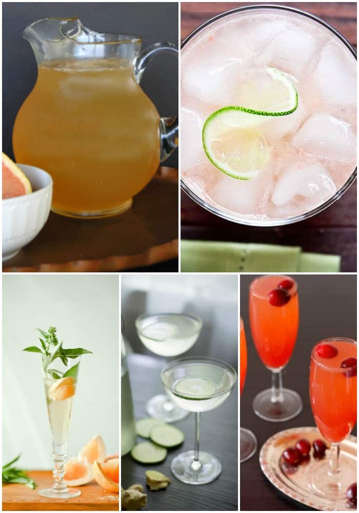 mocktails for New Year's Eve