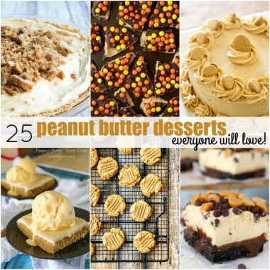 I love peanut butter almost as much as I love chocolate, and these 25 PEANUT BUTTER DESSERTS EVERYONE WILL LOVE are worth splurging on!