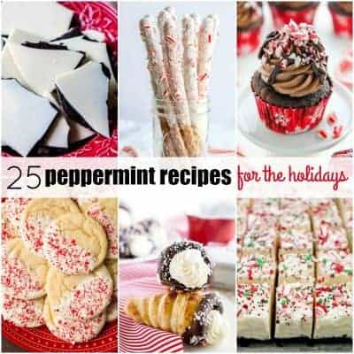 25 Peppermint Recipes Perfect for the Holidays