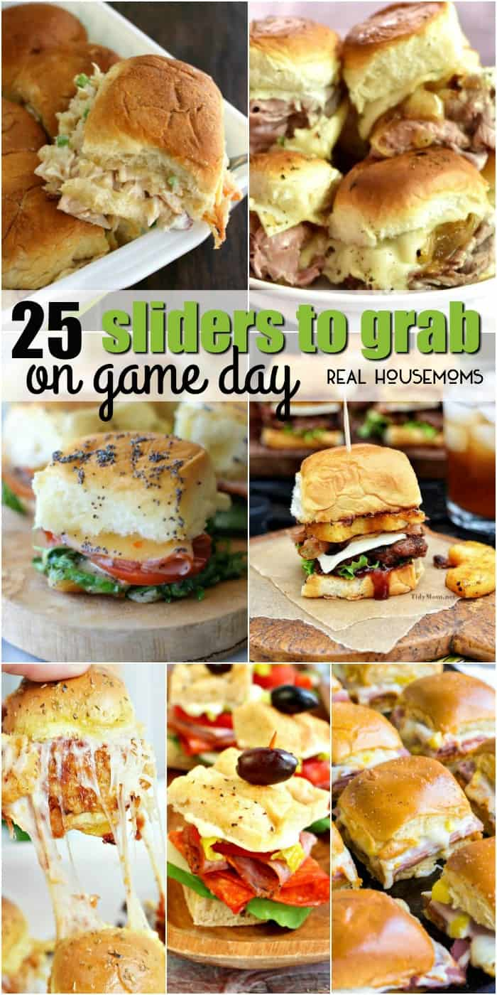 Round up your friends and get ready to yell at the TV! We're bringing you25 Sliders to Grab on Game Day that'll make your crowd go wild!