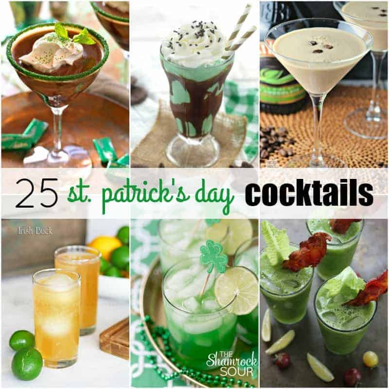 25 St. Patrick's Day Cocktails