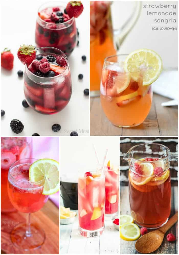pink sangria recipes
