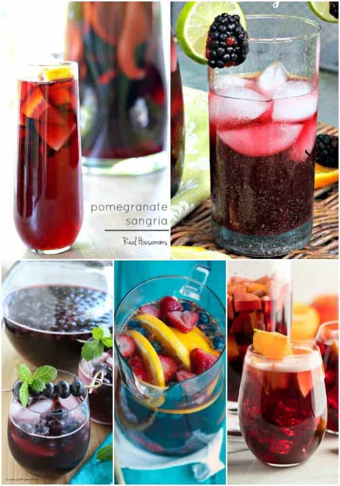 red and purple sangria recipes
