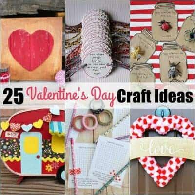 25 Valentine's Day Craft Ideas
