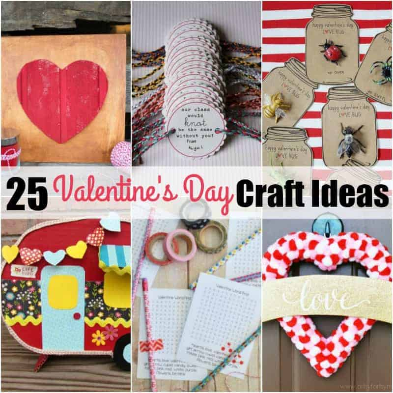 25 Valentine S Day Craft Ideas Real Housemoms
