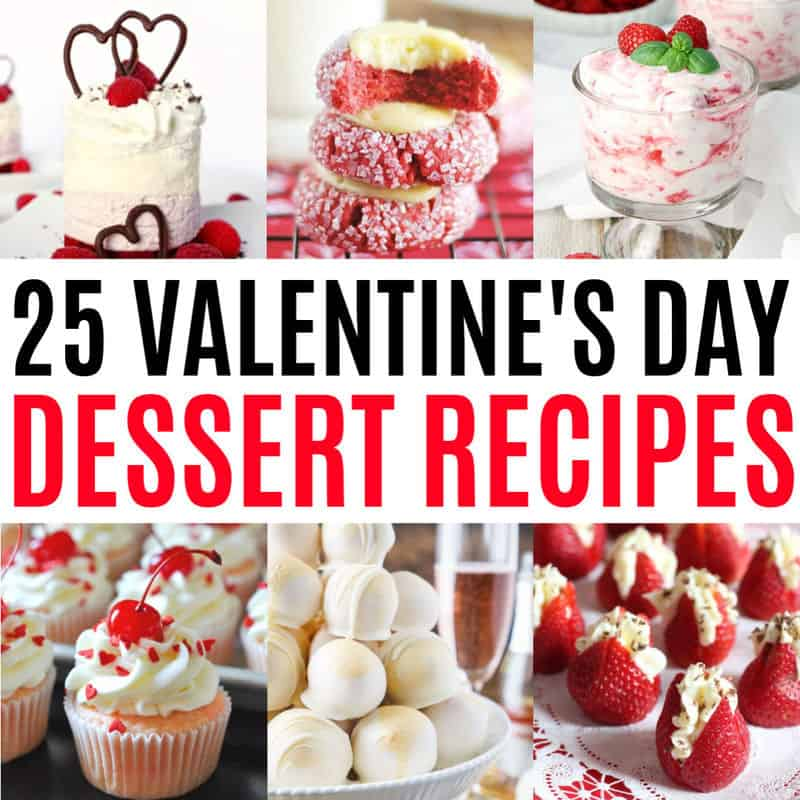 25 Valentine S Day Dessert Recipes Real Housemoms