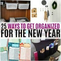 vertical collage or organization ideas for the home