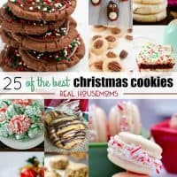 When the weather gets cold it's a sign to me that it's time to bake! This year, I'm making 25 of the Best Christmas Cookies to stuff our cookie plates and spread some cheer!