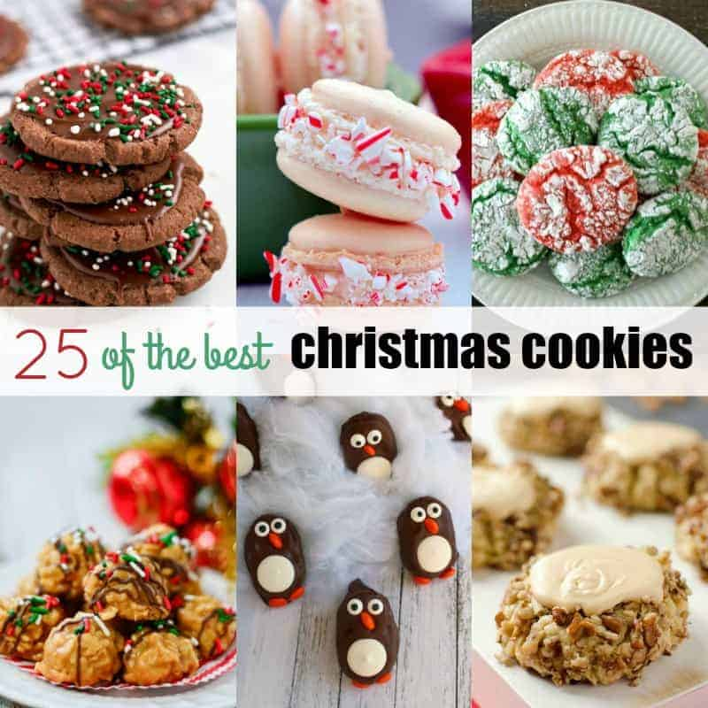 25 of the best christmas cookies real housemoms - Best Christmas Cookies Recipes