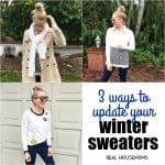 3 Ways to Update Your Winter Sweaters