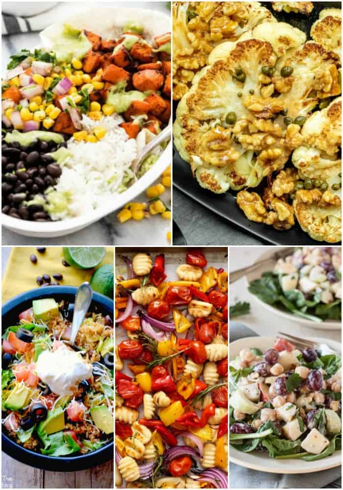 30-minute or less vegetarian dinners