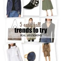 There are many fall trends that make this upcoming season super exciting and I'm sharing 5 EASY FALL TRENDS TO TRY that are super easy to wear this season!