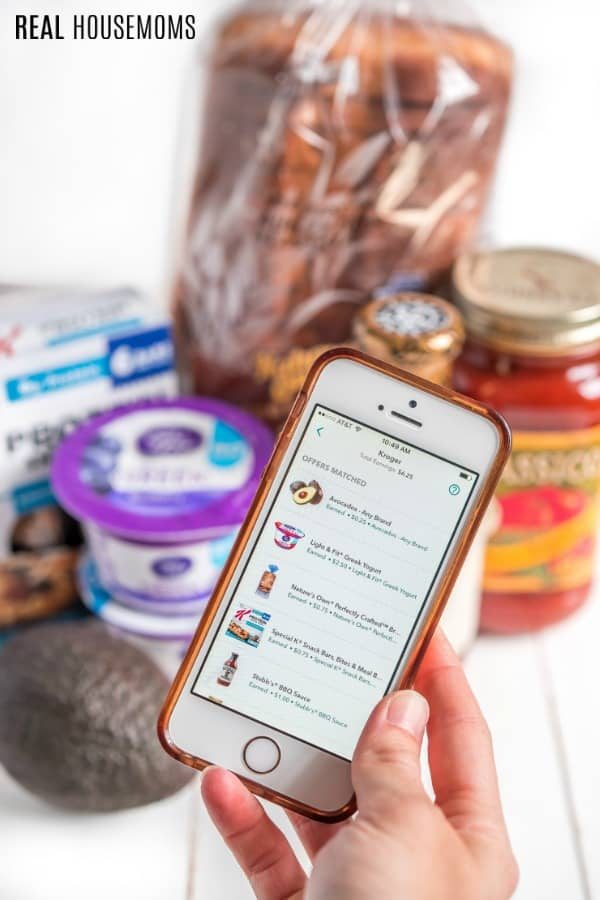 using Ibotta app to find grocery items with cashback