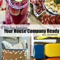 These 5 Tips for Keeping Your House Company Ready are a life saver during the holidays!