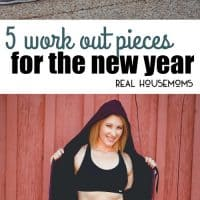 Want to keep those New Year's Resolutions and get healthier? We are sharing 5 Work Out Pieces You Need For The New Year!