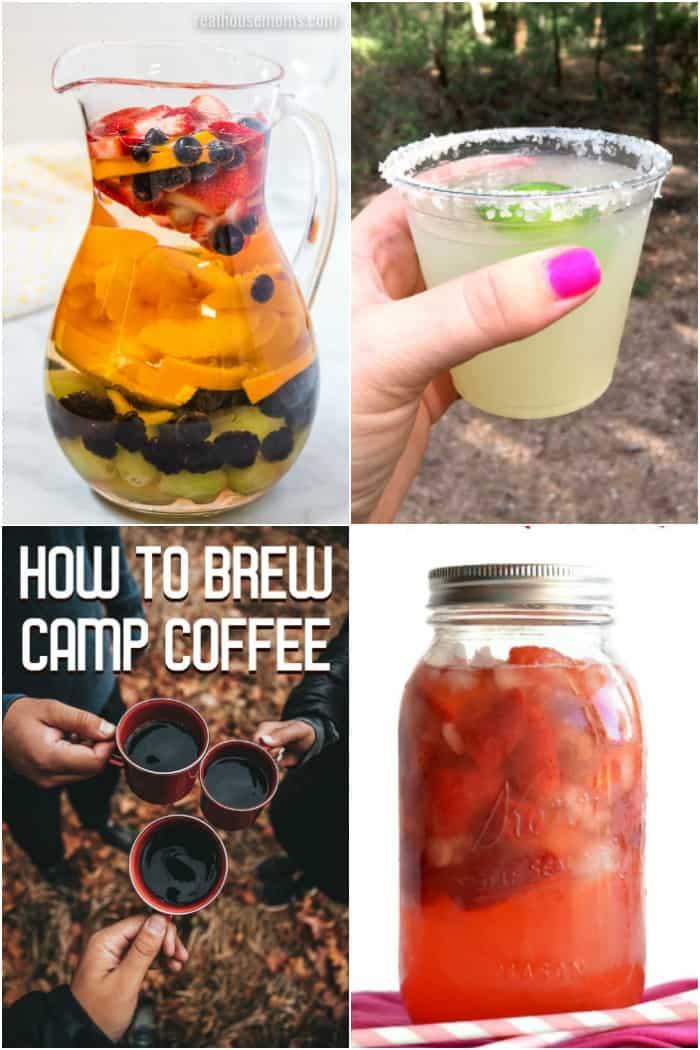 drinks to take camping