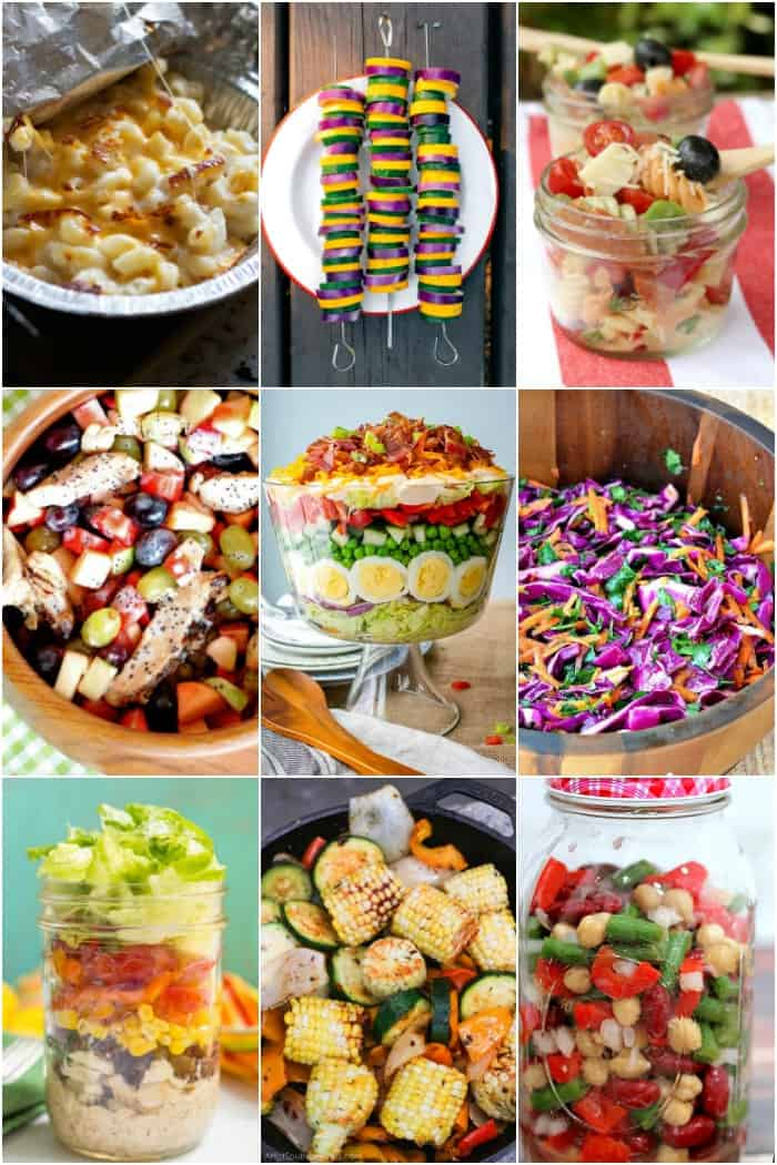 camping side dishes