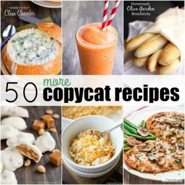 50 More Copycat Recipes