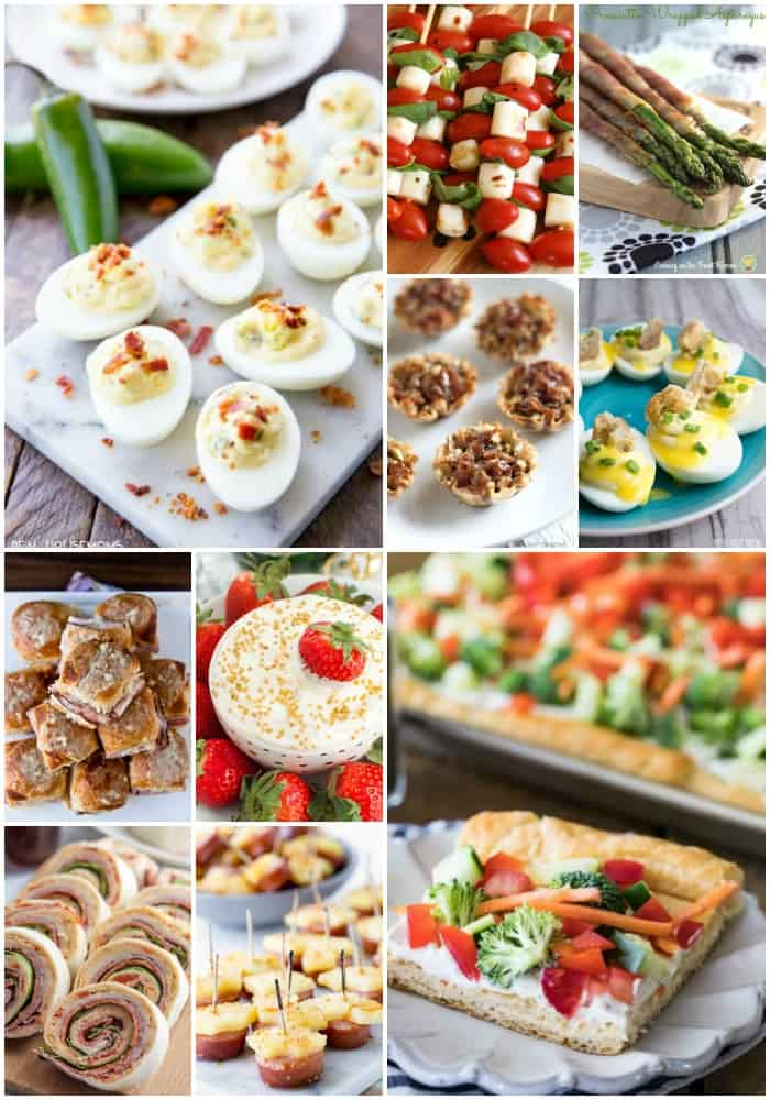 mother's day appetizer recipes