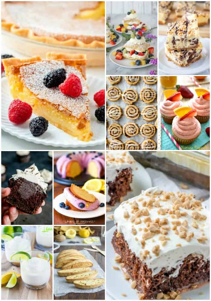 mother's day dessert recipes
