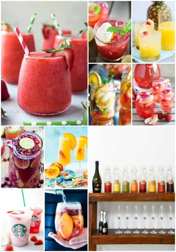 mother's day drink recipes