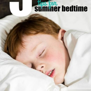 5 Tips for Summer Bedtime