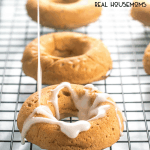 APPLE CIDER DONUTS make an amazingly delicious Fall breakfast because they are soft, moist, apple cider flavored donuts that are baked and not fried!