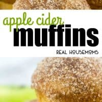 Moist, tart and sweet these Apple Cider Muffins are a perfectly easy and quick Fall breakfast treat that you'll want to add to your menu!