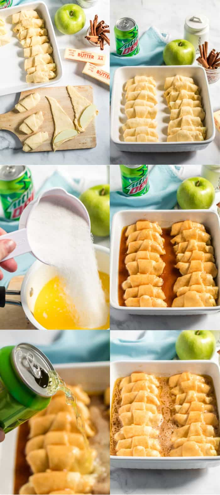 steps to make apple dumplings