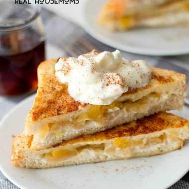 This Apple Pie Stuffed French Toast is everything a fall breakfast should be! Loaded with apples and cinnamon in every bite, it's like having a slice of pie for breakfast!