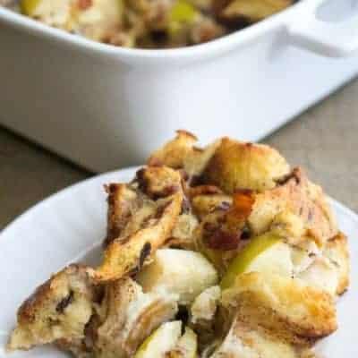 Apple Raisin Breakfast Casserole