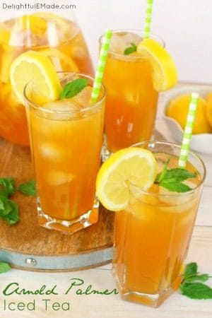 Arnold Palmer Iced Tea by Delightful E Made