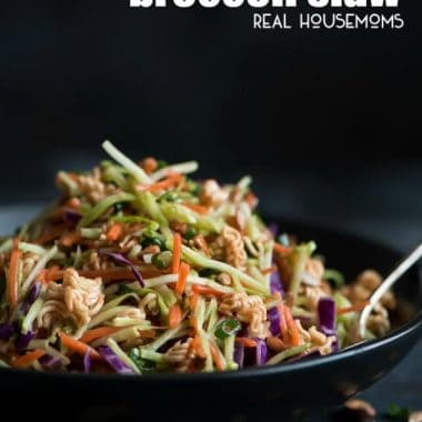 Asian Ramen Broccoli Slaw