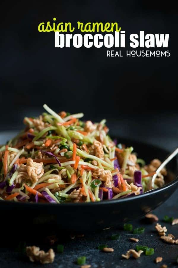 Asian slaw recipe with raimen noodles