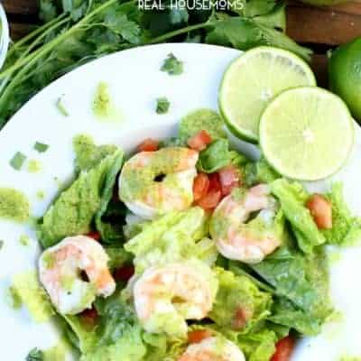 Avocado Cilantro Lime Shrimp Salad