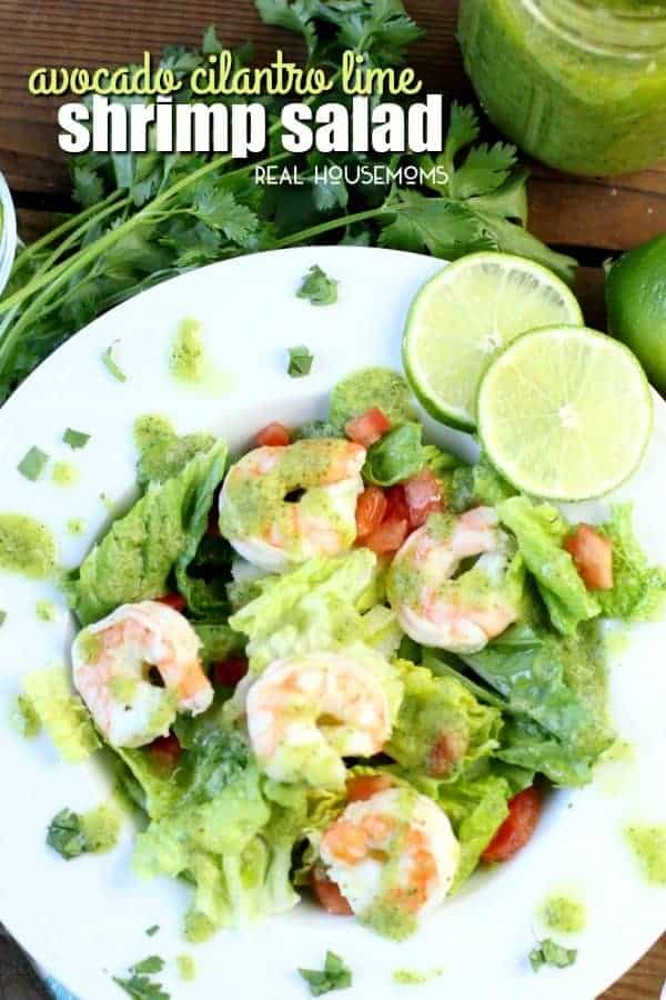 You have to try this Avocado Cilantro Lime Shrimp Salad! It's light, fresh and super flavorful - not to mention low-carb and gluten-free!
