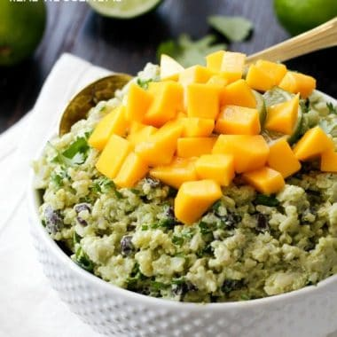 Avocado Mango Rice