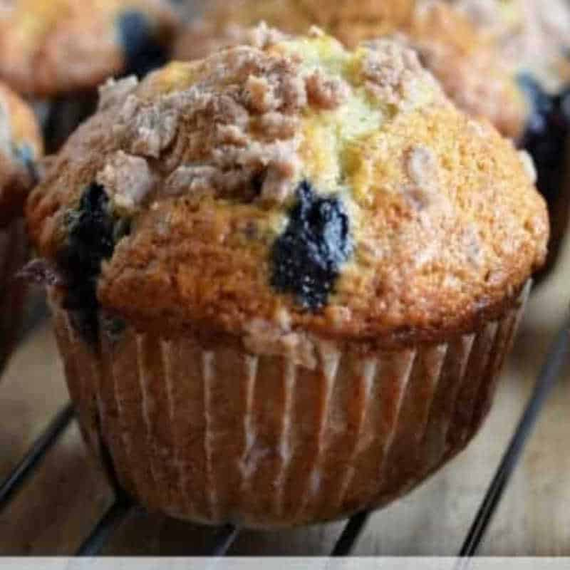 MUFFIN ON A RACK