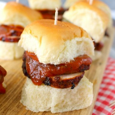 BBQ Pork Loin Sliders