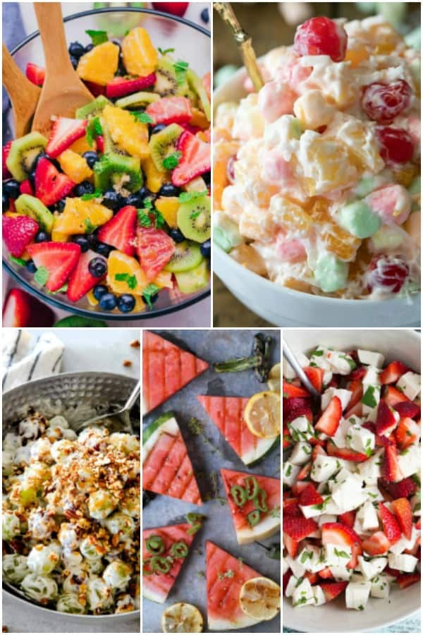 fruit side dishes for a cookout