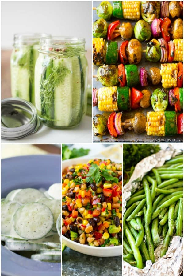 vegetable side dishes for a cookout