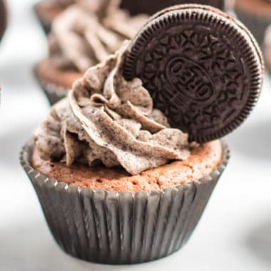 It's a brownie! It's a cookie! It's a cupcake! It's all three!! Brownie Cookie Cupcakes are a trifecta of sweets and the ULTIMATE dessert lover's treat!
