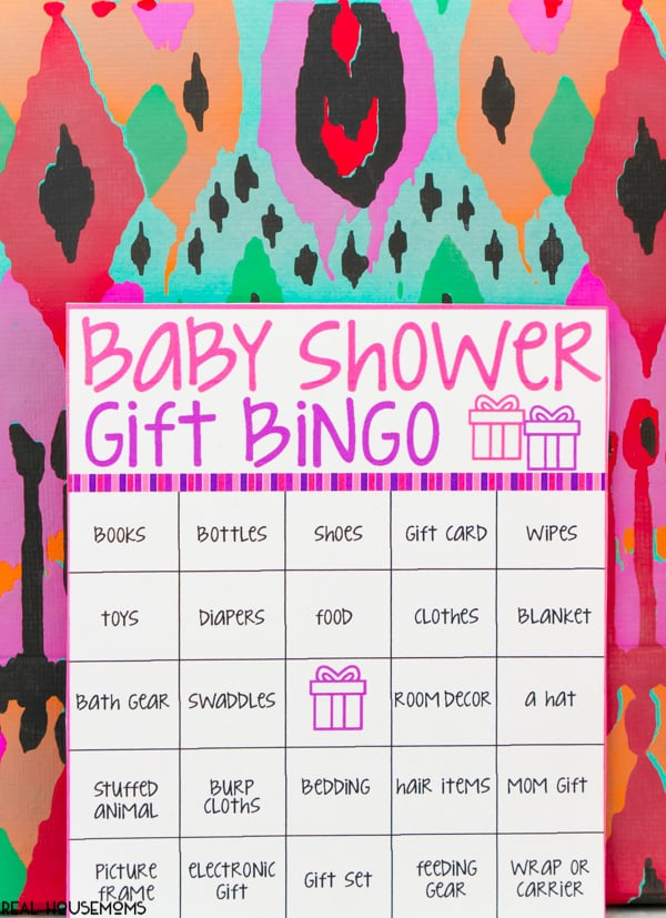 Baby Shower Bingo Cards Real Housemoms