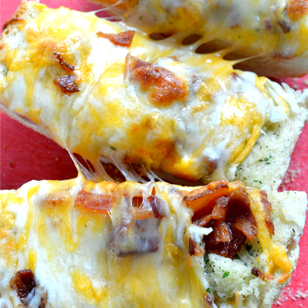 Hams Egg Cheesy Bread Roll: Bacon Ranch Cheesy Bread ‹� Real Housemoms
