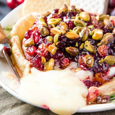Take everything you love about Baked Brie and make it next level! Encrusted in pastry and covered in chutney, you'll want to have this recipe on repeat!