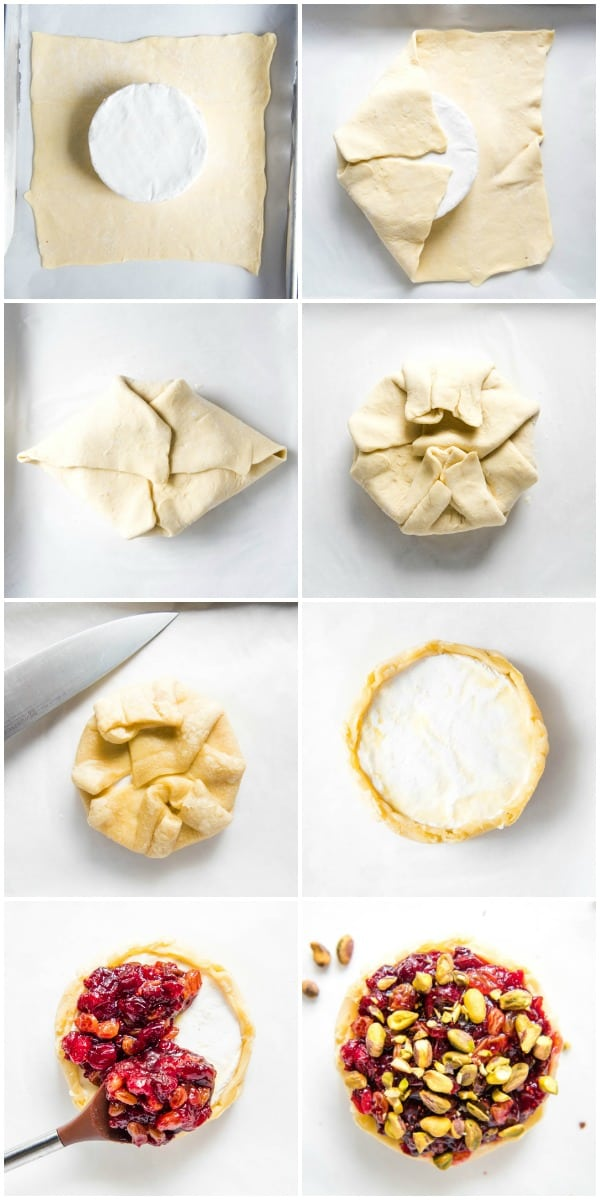steps to make baked brie