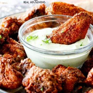 Baked Chili Rub Wings