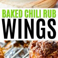 Baked Chicken Recipes Wings Families
