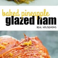 Tender and juicyPineapple Glazed Baked Ham has the perfect blend of sweet and savory flavors. An easy recipe that will please your guests for the holidays!